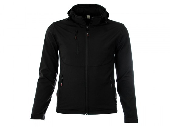 M-wear-softshell-jas-6100-zwart